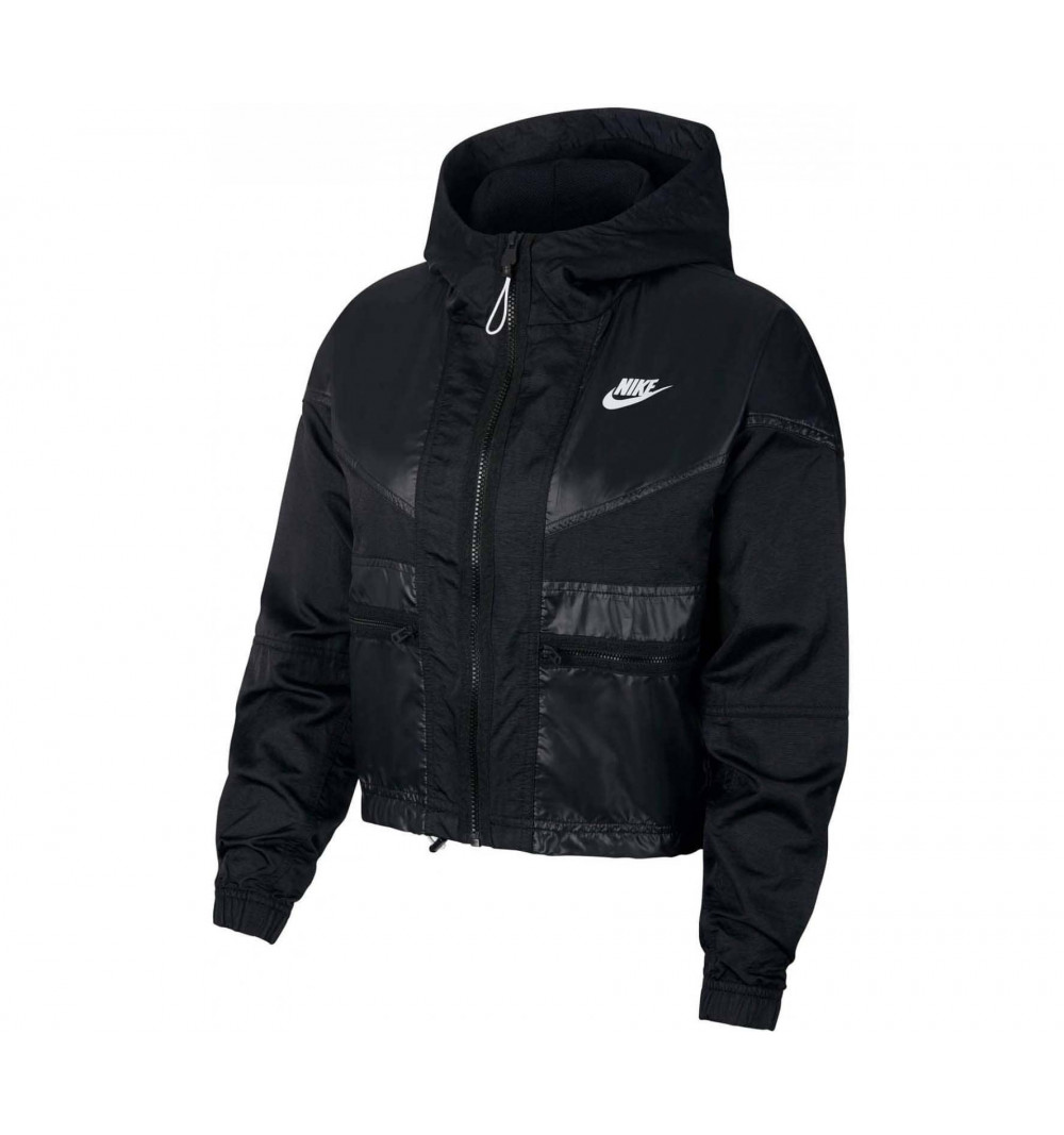 Jacket Nike W NSW WR Cargo Rebel Black