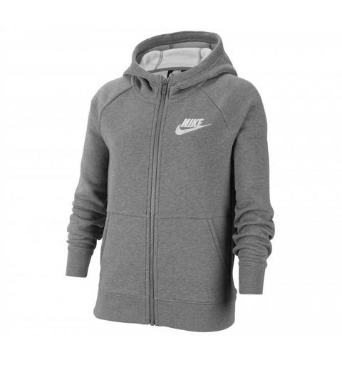 Sudadeara Nike Jr Hd Full Zip Grey