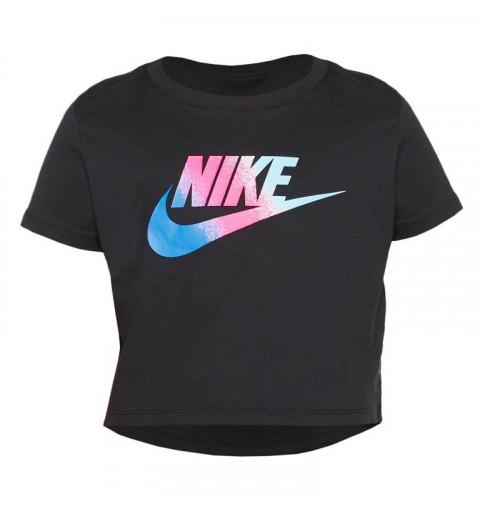 Camiseta Nike G Nsw Stmt crop Black