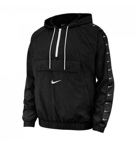 Windrunner Nike Taped Swoosh Black