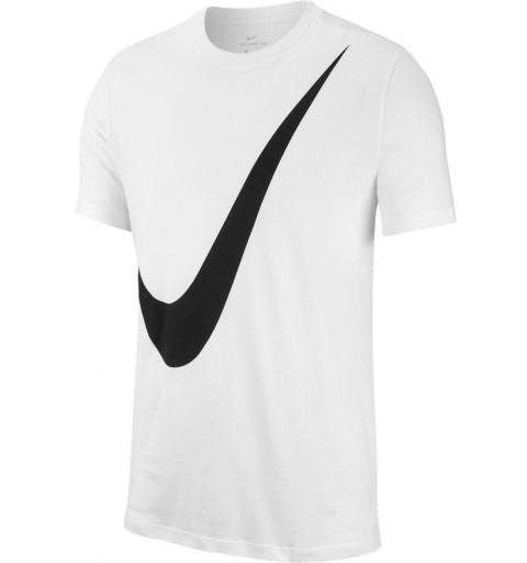 Camiseta Nike M NSW SS TEE Swoosh White