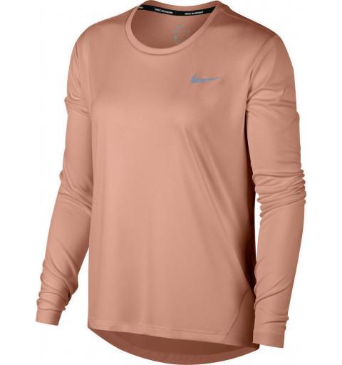 Camiseta Nike W Miler Dri-Fit Rosa