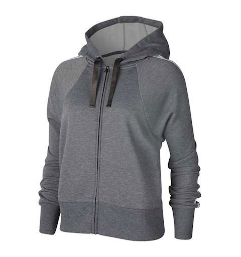 Sudadera Nike W Dry Flc Get HD Fz JDI Grey