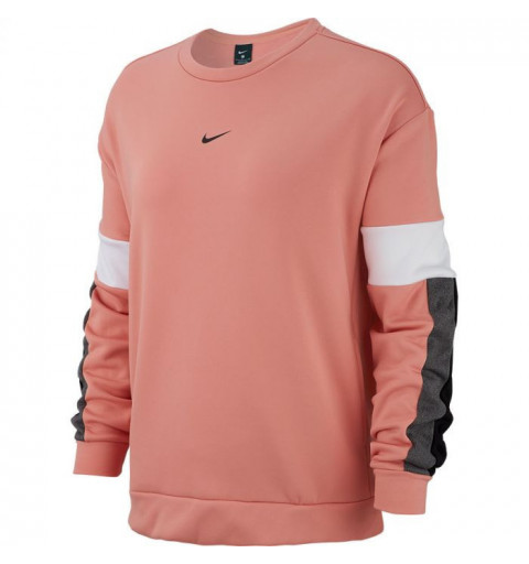 Sudadera Nike W Therm All Tm Clrbk Crew Pink