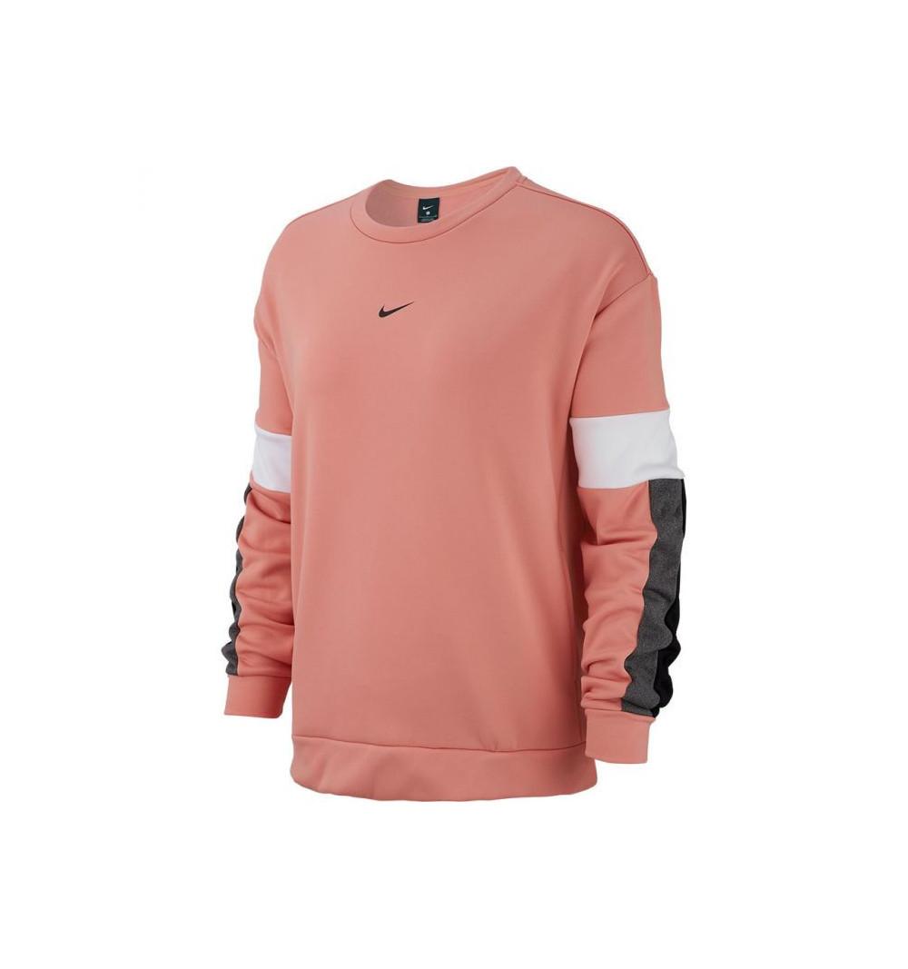 Sudadera Nike W Therm All Tm Clrbk Crew Pink