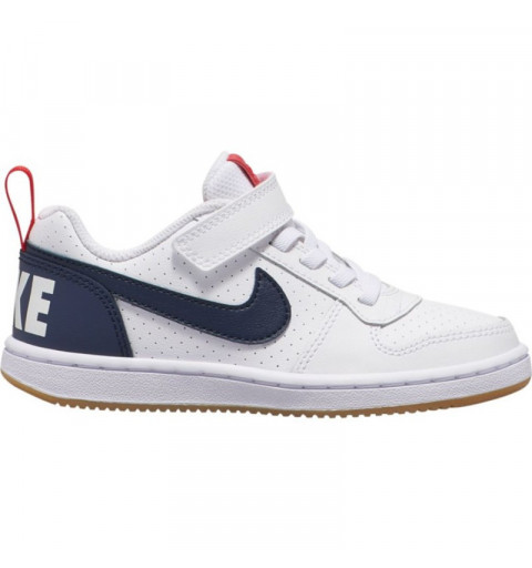 Nike Court Borough Low PSV White-Obsidn