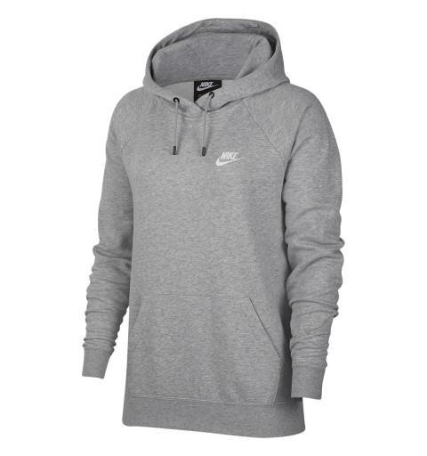 Sudadera Nike W NSW Essntl Hoodie Grey