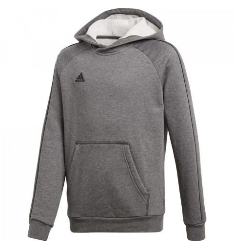Sudadera Adidas Core18 Hoody Y Grey-Black