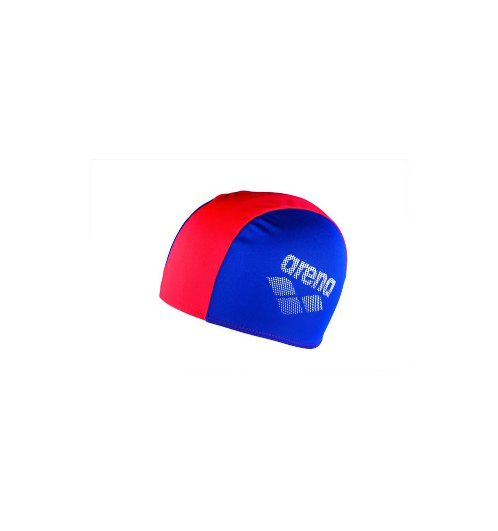 Gorro Arena Polyester II Jr Royal-Rojo