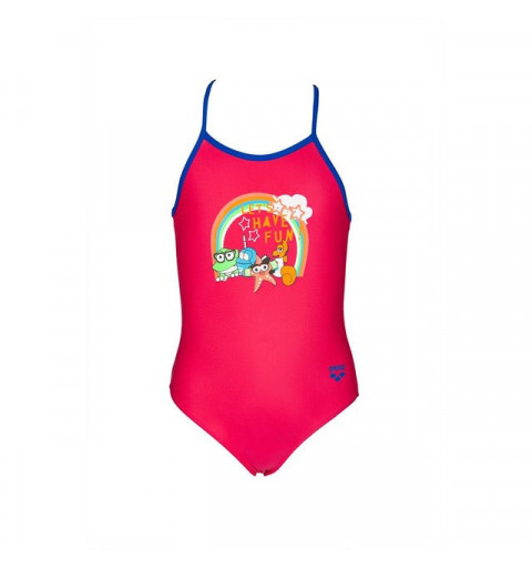 Bañador Arena AWT Kids Girl One Piece Rose