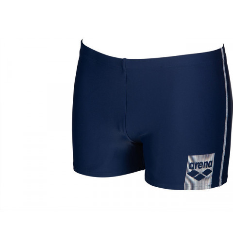 Bañador Arena Minishort Basics Navy-White
