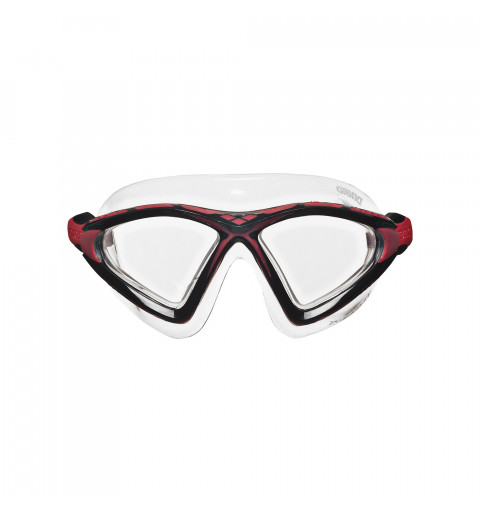 Gafa Arena X-Sight2 Clear-Clear-Red