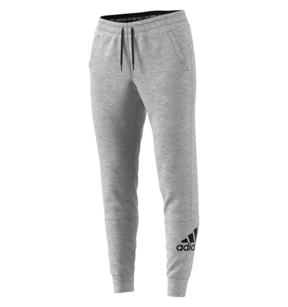 Pantalón Adidas W MH Bos Grey