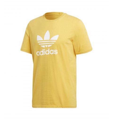 Camiseta Adidas Trefoil Amarilla