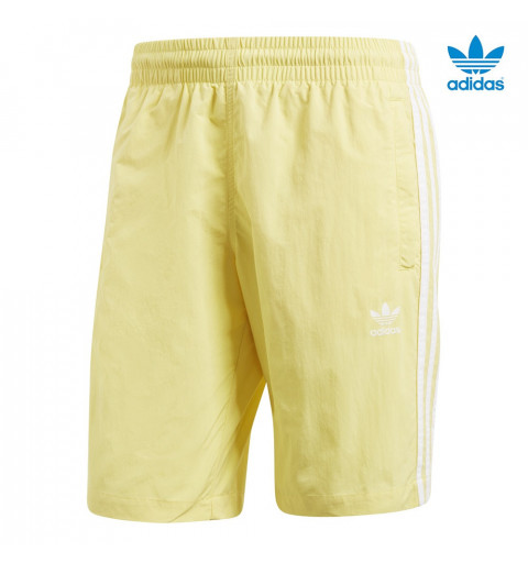 Bañador Adidas 3-Stripes Amarillo