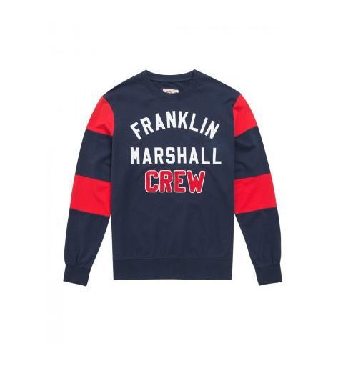 Sudadera Franklin Marshall 298 Azul Marino