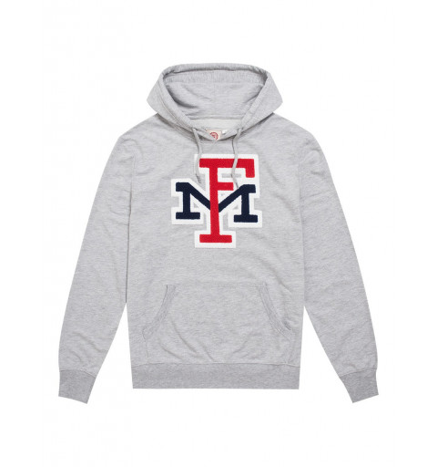 Sudadera Franklin Fleece Hooded Long Grey