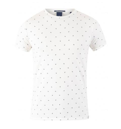 Camiseta Scotch rayas Blanca