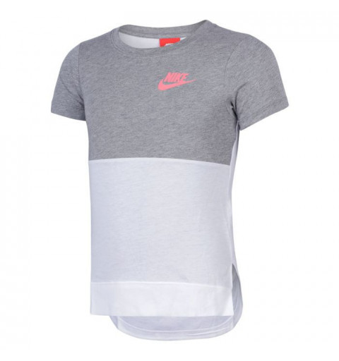 Camiseta Nike Girls Nsw Gris