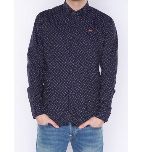 Camisa Scotch 142612 Marino