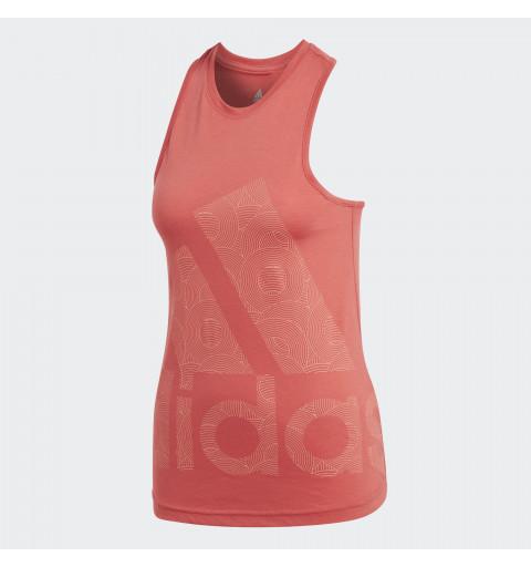 Camiseta Adidas Cool Tank Naranja