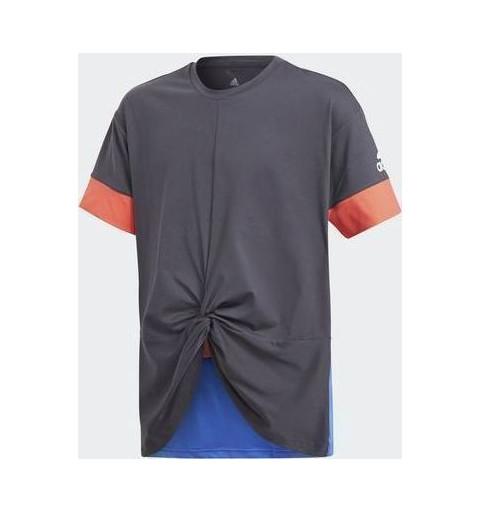 Camiseta Adidas YG Wow Tee Gris
