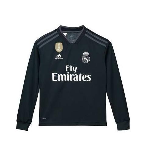 Camiseta Real Madrid Jr Away M/L
