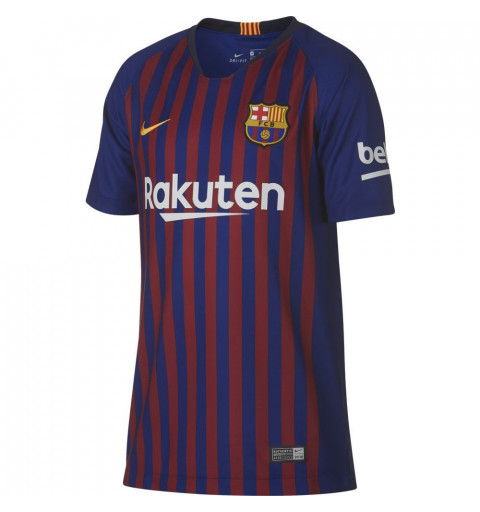 Camiseta Nike Barcelona JR Home 18/19