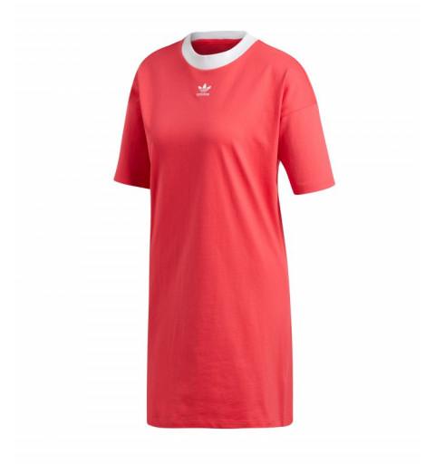 Vestido Adidas Trefoil Rojo