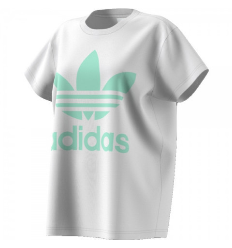 Camiseta Adidas Big Trefoil White