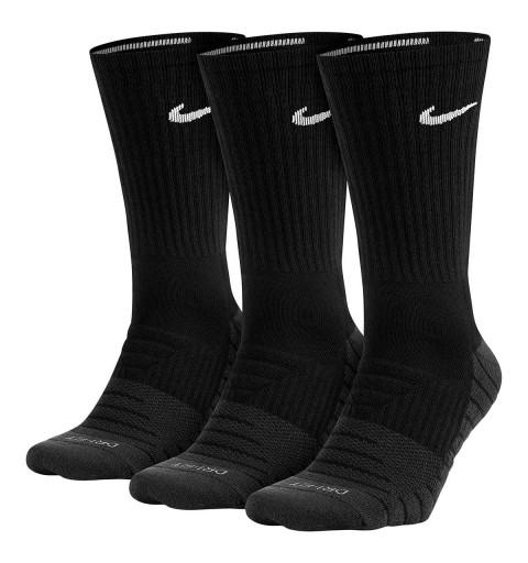 Calcetin Nike Dri-Fit Alto Negro