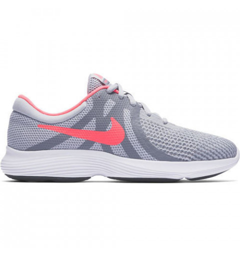Nike Revolution 4 GS Grey-Pink