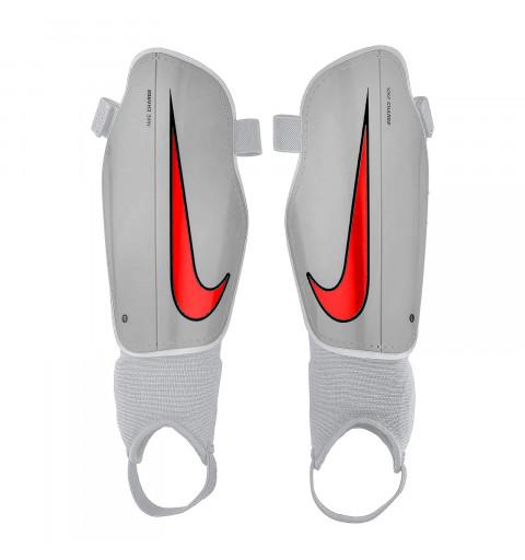 Espinillera Nike Jr Charge Grey