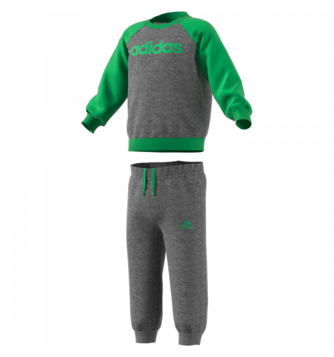 Chándal Adidas Linear Fleece Verde