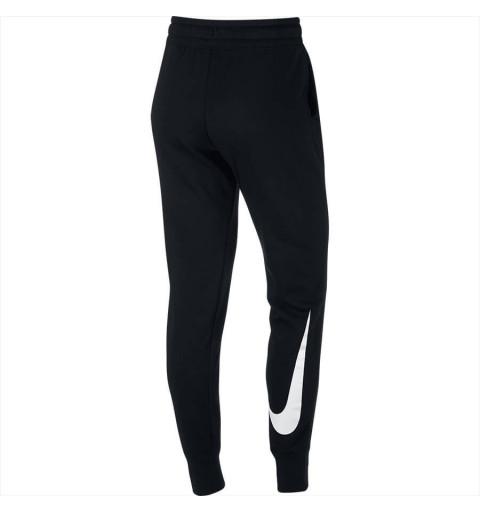 Pantalón Nike W Nsw Swsh Negro