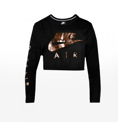 Camiseta Nike W Air Top Negra