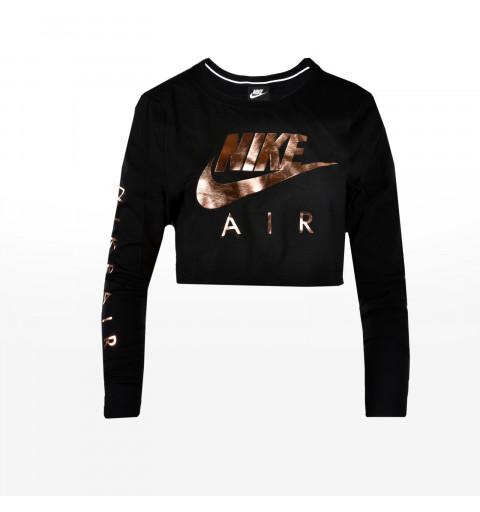Camiseta Nike W Air Top Negra