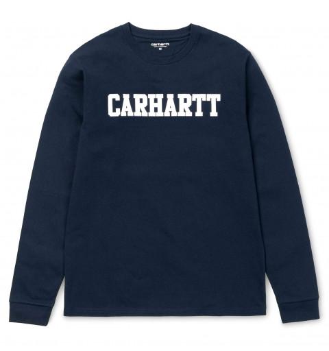 Sudadera Carhartt College Dark Navy