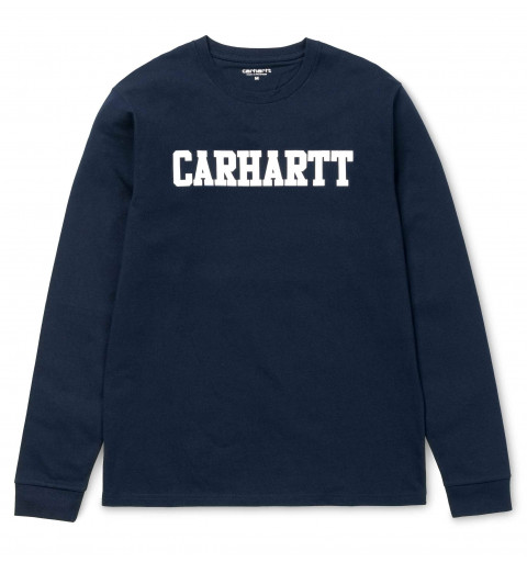 Camiseta Carhartt College Dark Navy