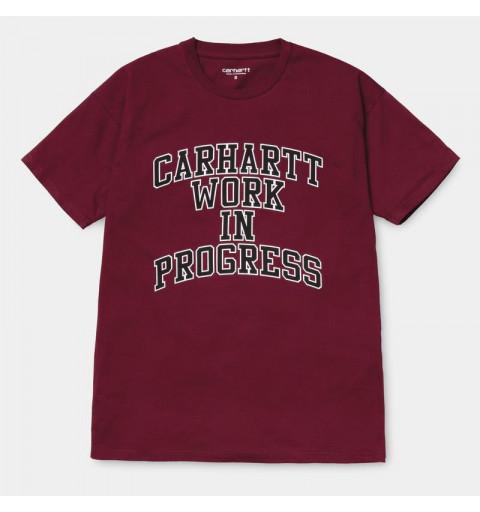 Camiseta Carhartt W Division Mulberry