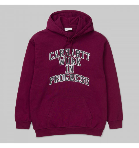 Sudadera Carhartt W HD Division Mulberry