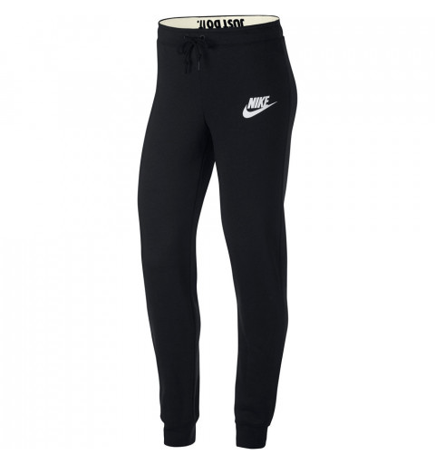 Pantalón Nike W NSW Rally Metalic Negro