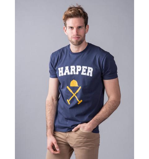 Camiseta Harper Icon Azul Marino
