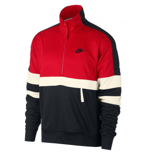 Sudadera Nike NSW Air Red-Black