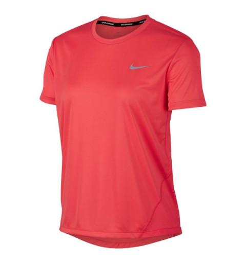 Camiseta Nike W Miler Rojo