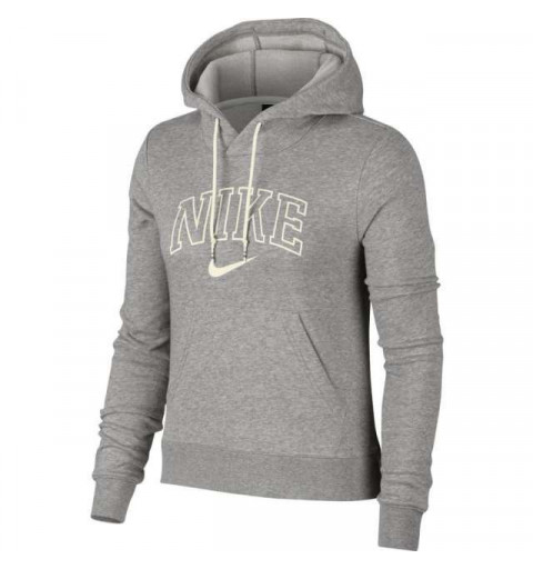 Sudadera Nike W NSW Hd Varsity Grey