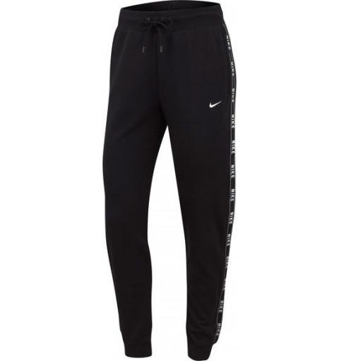 Pantalón Nike W NSW Logo Tape Black