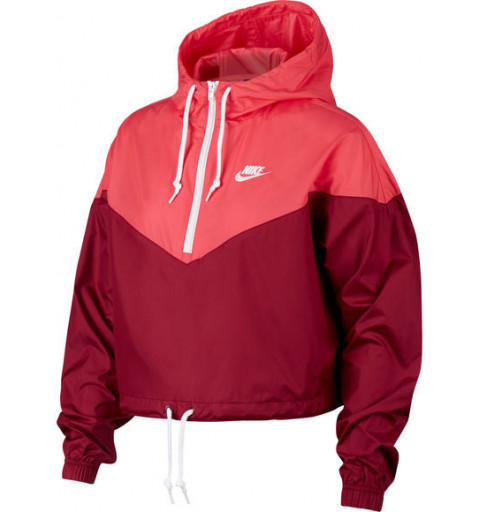 Windbreaker Nike W NSW Hrtg Red
