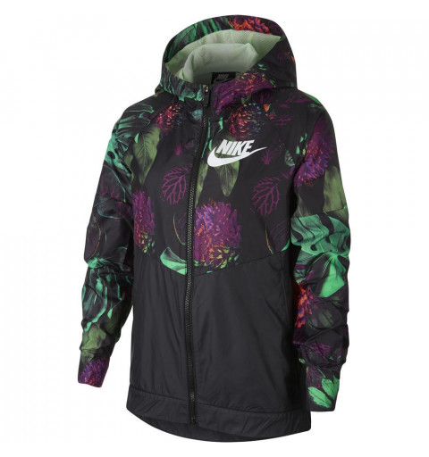Jacket Nike Girls WR Hd Floral