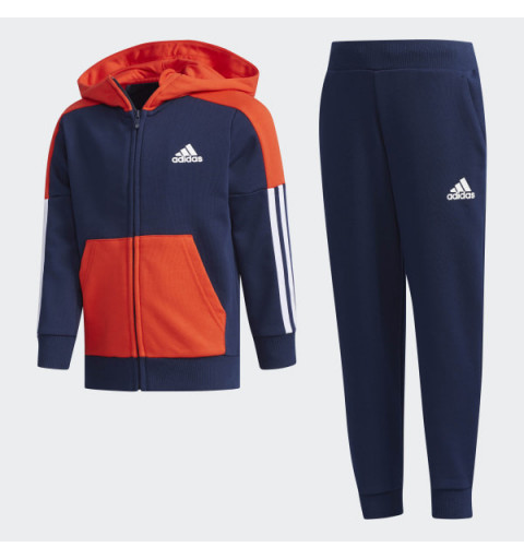 Chandal Adidas LK FT Tracksuit Navy-Red